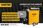 Master AIR-BUS - new indirect oil fired air heater