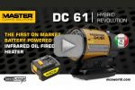 Master DC 61 - NEW infrared oil fired heater
